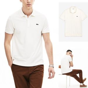 🆕 LACOSTE Thermoregulating Regular Fit Polo Shirt